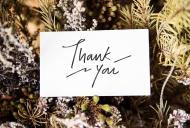 Als Dankeschön