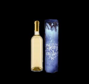 Vorderseite mit Flasche
