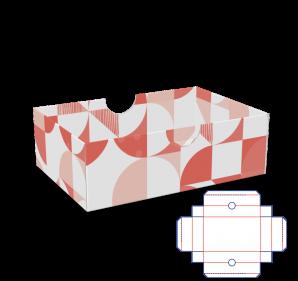 Stülpverpackung - Deckel